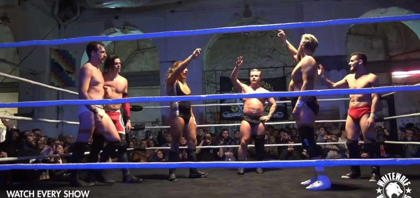 [FREE MATCH] Team Whitewolf vs British Strong Style – Cuento de Navidad (29/12/2018)