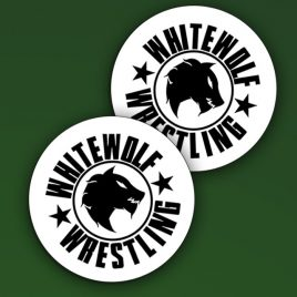 Imán WhiteWolf Wrestling