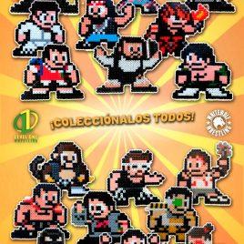 Pixel Arts luchadores