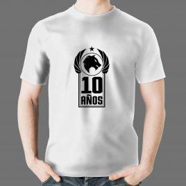 Camiseta 10º Aniversario Blanca