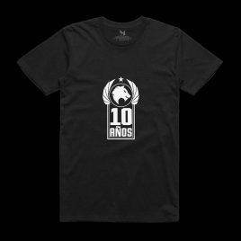 Camiseta 10º Aniversario Negra